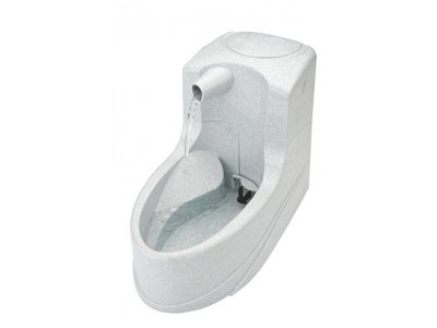 PetSafe Drinkwell® Mini Pet Fountain - Drinkfontein voor katten en kleine honden - Met vrijvallende waterstroom en verstelbare stroomsnelheid - 1,2 liter