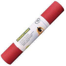 FITNESS MAD Studio Pro Yoga Mat Fitnessmat 4.5 mm 183 x 60 cm (1.6kg) Red
