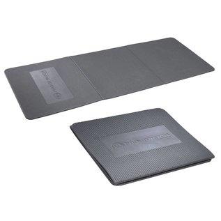 FITNESS MAD Fitness-Mad Studio Pro Stretch 3 Fold Aerobic Mat 134 x 50 x 0,9 cm (0,6 kg) opvouwbaar (45 x 50 x 2,7 cm) EVA Zilver