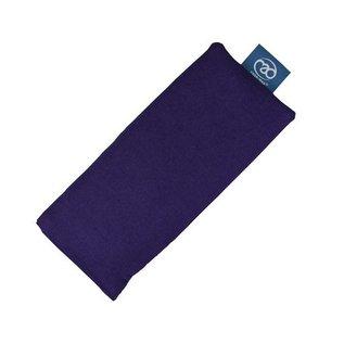 FITNESS MAD Cotswold lavender Eye Pillow 100% katoen Lijnzaad en Lavender vulling 23x11 cm Paars