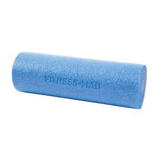 FITNESS MAD Foam Roller Blue Short 45 x 15 cm (0.6kg)