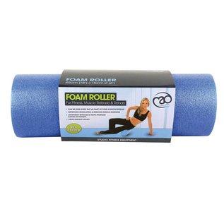 """FITNESS MAD Fitness Mad Foam Roller 18"""" 45cm Massage Blue 15cm 0.6kg Foamroller"""