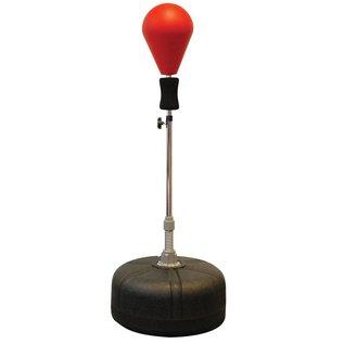 FITNESS MAD Free Standing Speed Ball Vast hoogte verstelbaar 126-146cm (voet 45cm) Rood Zwart