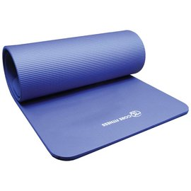 FITNESS MAD Studio Core Fitness Plus Mat Flatpack 182 x 58 x 1.5 cm (1.65kg) NBR Blue
