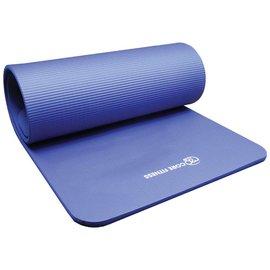 FITNESS MAD Studio Core Fitness Plus Mat Flatpack 182 x 58 x 1,5 cm (1.65kg) NBR Blauw