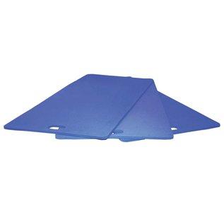 FITNESS MAD Studio Pro Aerobic Mat Handvat 100 x 50 x 1 cm EVA Blauw