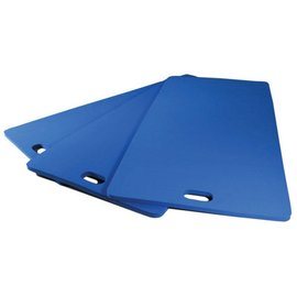 FITNESS MAD Studio Pro Aerobic Mat Handvat 100 x 50 x 1,5 cm EVA Blauw