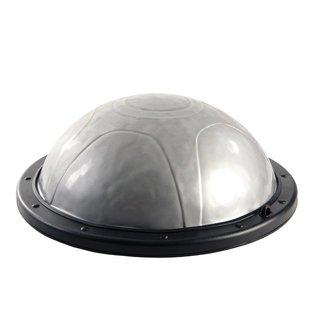 FITNESS MAD Air Balance Dome Pro max 140kg tweezijdig 59 x 23 cm (5.75kg) inclusief pomp Zilver