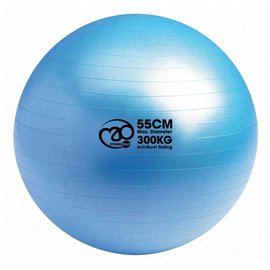 FITNESS MAD 300Kg anti-burst Swiss Gym Ball 55cm (1.1kg) light blue