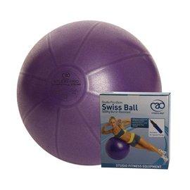 FITNESS MAD Fitness Mad Fitnessbal 65cm Studio Pro anti-burst 500Kg inclusief pomp Paars