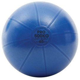 FITNESS MAD Studio Pro anti-burst 500Kg Swiss Gym Ball 65cm (1.75kg) Blue