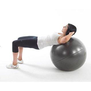 FITNESS MAD Studio Pro anti-burst 500Kg Swiss Gym Ball 65cm (1.7kg) Grey