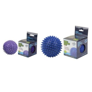 FITNESS MAD Spikey Massage Ball Large 9cm blauw
