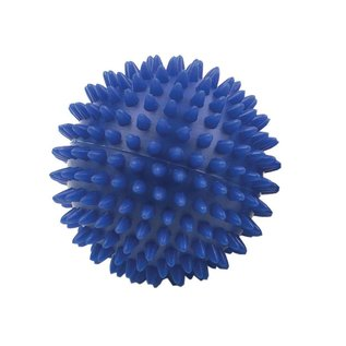 FITNESS MAD Spikey Massage Ball Large 9cm blue