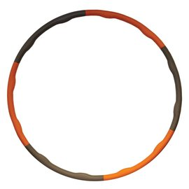 FITNESS MAD Fitness Mad Weighted Hula Hoop  - 1.5Kg - Orange - Wave