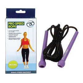 FITNESS MAD Studio Pro Speed Jump Rope 8ft 244 cm (body length until 163 cm) Purple