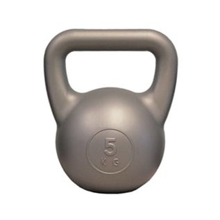 FITNESS MAD Fitness Mad Kettle Bell PVC 5.0Kg Zilver Kettlebell
