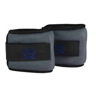 FITNESS MAD Wrist / Ankle Weights 1Kg (2 x 0.5kg) pair Grey