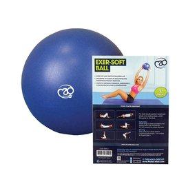 FITNESS MAD Fitness Mad Exer-Soft Pilates Ball 7 inch 18cm Gymnastics Blue