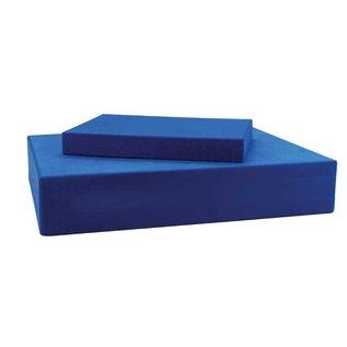 FITNESS MAD Yoga Pilates Block Hoofd blok 150 x 205 x 25mm Hoogwaardig EVA blok Blauw