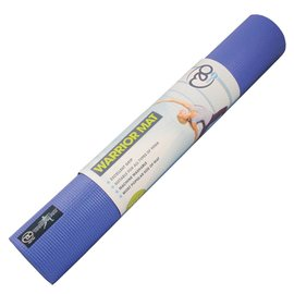 FITNESS MAD Warrior Yoga Mat Fitnessmat 4 mm 183 x 61 cm (1.1kg) blue
