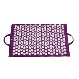 FITNESS MAD Acupressure Mat Bed of Nails Mat 67 x 41 cm (1kg) Purple