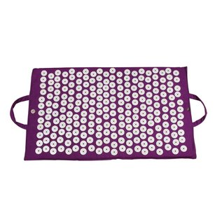 FITNESS MAD Fitness Yoga Mad Acupressure Mat Bed of Nails Mat 67x41 cm 1kg Purple