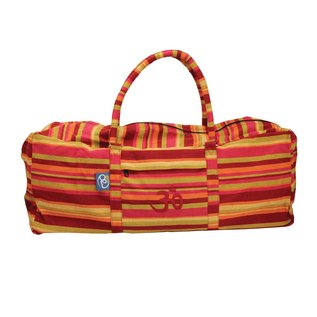 FITNESS MAD Fitness-Mad Yoga-Mad Yoga Kit Bag 62x22x22 cm 100% Cotton Red