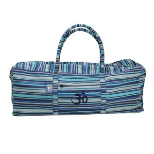 FITNESS MAD Fitness-Mad Yoga-Mad Yoga Kit Bag 62x22x22 cm 100% Cotton Blue