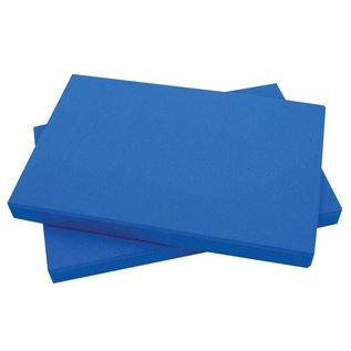 FITNESS MAD Half Yoga Block 305 x 205 x 25 mm half yoga blok met afgeschuinde randen hoogwaardig EVA Blauw