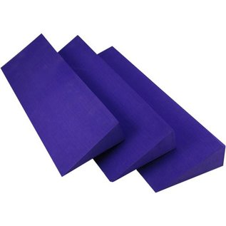 FITNESS MAD Yoga Pilates Wedge yoga block 50 x 15 x 5 cm Blauw