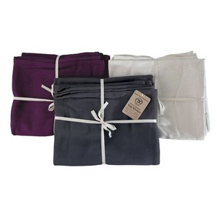 FITNESS MAD Cotton Yoga Blanket 150x200 cm 100% katoen hand geweven 1.5kg Naturel