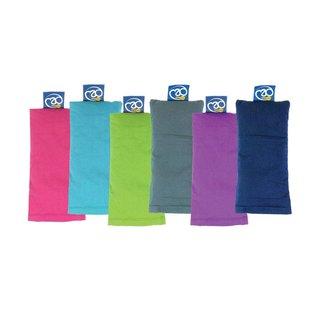 FITNESS MAD Organic Eye Pillow 100% organisch katoen Lijnzaad en Lavender 20x10cm Paars
