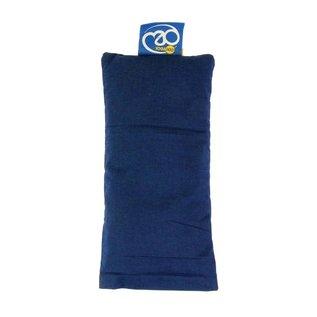 FITNESS MAD Organic Eye Pillow 100% organisch katoen Lijnzaad en Lavender 20x10cm Blauw