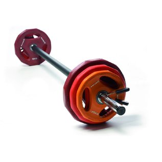 O'LIVE FITNESS O'LIVE  BODY PUMP POWER DISK COMPLETE SET 21kg