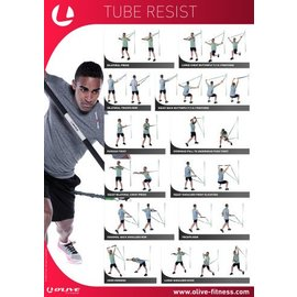 O'LIVE FITNESS O'LIVE RESISTANCE TUBE POSTER