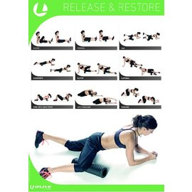 O'LIVE FITNESS O'LIVE FOAM ROLLER RECOVERY POSTER