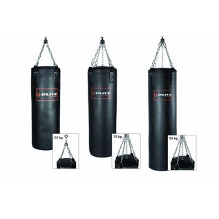 O'LIVE FITNESS O'LIVE PUNCHING BAG 50 kg 130x40cm Black synthetic leather