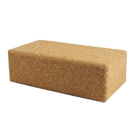 FITNESS MAD Cork Yoga brick 76 x 127 x 229 mm