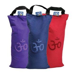 FITNESS MAD Sand Bag 42x18 cm 5kg cotton blue