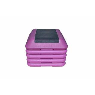 Aerobic Step Block 41 cm - USA - Aerobics Fitness Stepper - Purple - SALE