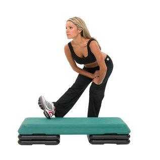 FITNESS MAD Fitness Mad Studio Aerobic Step Platform 110 x 41 x 11 cm Grijs