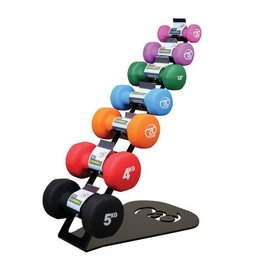 FITNESS MAD Dumbbell Rack voor neopreen dumbbells 0.5 tot 5kg SALE