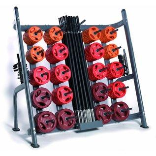 O'LIVE FITNESS O'LIVE POWER DISK KIT B 30 complete sets + rack MU06100