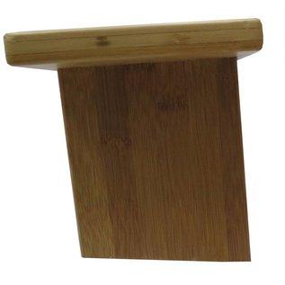 FITNESS MAD Bamboe meditatiekrukje 46x15 cm 18cm achter 16cm voor 1,6kg bamboe YSTOOLFX