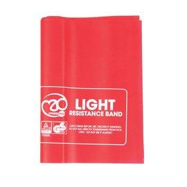 FITNESS MAD Bande de Résistance Fitness Light 150 x 15 cm Latex Rouge sans Guide