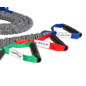 O'LIVE FITNESS O'LIVE RESISTANCE TUBE PLUS Strong - Red - Fitness Elastics Resistance Band