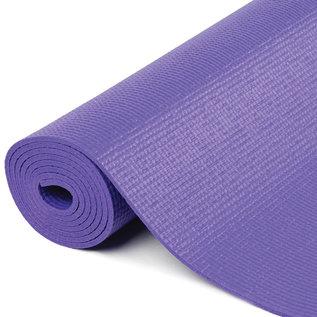 FITNESS MAD Fitness Yoga Mat Fitnessmat 6mm 183x61cm WarriorII Plus PVC AZO DOP free Purple