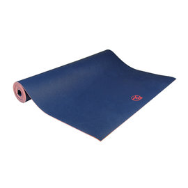 FITNESS MAD Suregrip Latex Yoga Mat Fitnessmat 4mm 183x62cm EU Blauw