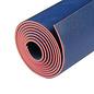 FITNESS MAD Suregrip Latex Yoga Mat Fitnessmat 4mm 183x60cm (2 kg) super grip soft ecological made in EU Blue